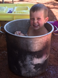 Byzy in the pot