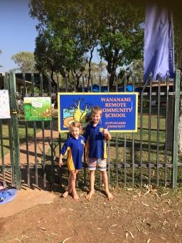 Wananami School Photo
